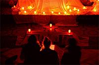 Modlitwa ze śpiewami z Taizé na Gądowie